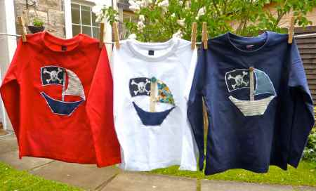 boys pirate tops