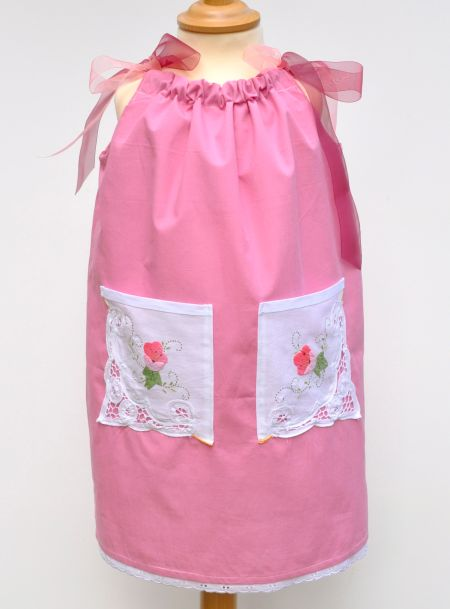 Organic Flower Girl Dress